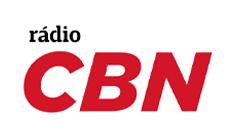 Logo rádio CBN em vermelho