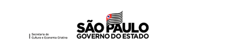 Logo Governo de São Paulo, Secretaria de Cultura e Economia Criativa