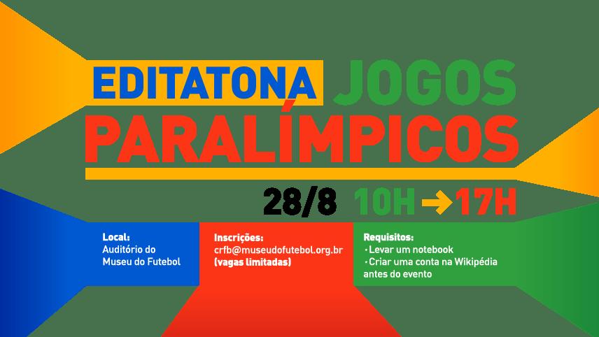 Editatona Jogos Paralímpicos